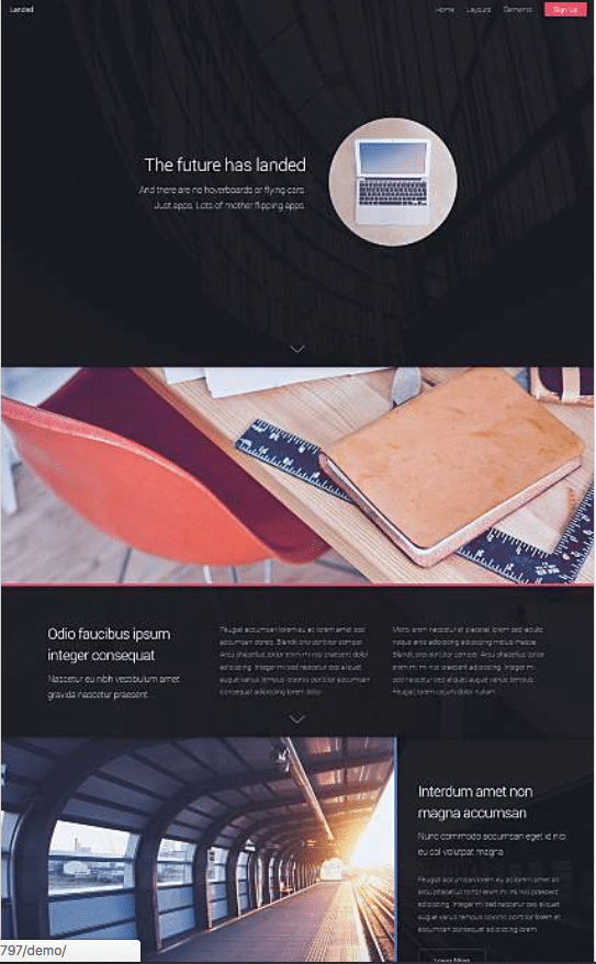 Turnkey Website Mockup | Resolution Digital