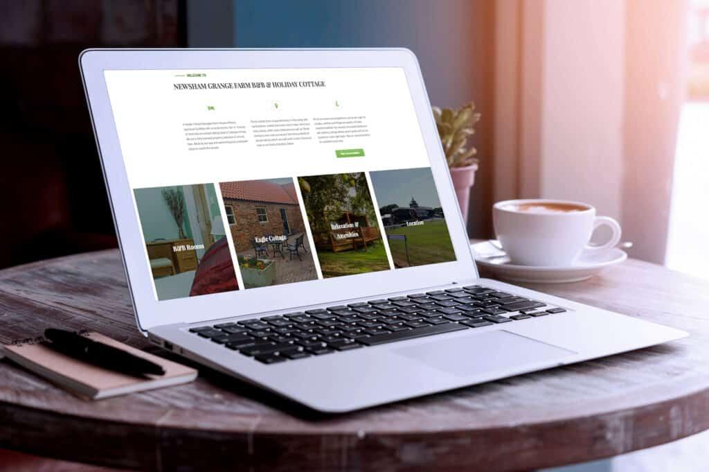 Newsham Grange B&B Case Study | Resolution Digital