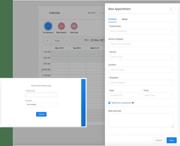Plugin - Booking System | Resolution Digital