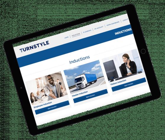 Turnkey Induction Mockup | Resolution Digital