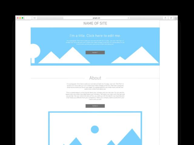 Website Page Mockup | Resolution Digital