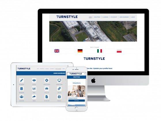 turnstyle, induction systems, online, resolution, services, turnkey, training, elearning, toolbox talks, health and safety, multi device,