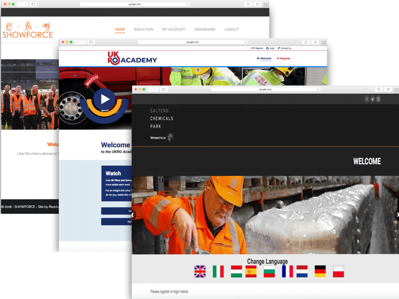 ukro, showforce, px, saltend, design, professional, user friendly, modern, design, admin, dashboard, security, compliance, turnstyle, induction systems, online, resolution, services, turnkey, training, elearning, toolbox talks, health and safety, online induction systems,